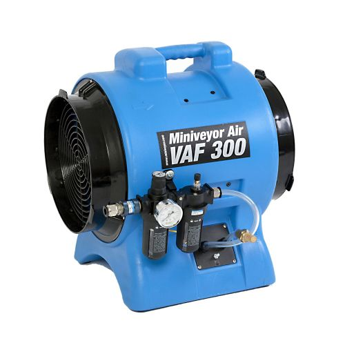 VAF-300P-FRL Heavy Duty Miniveyor Intrinsically Safe Air Mover Extractor 3400 m3/Hr 110V/240V~50Hz